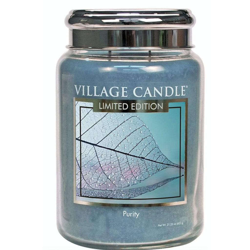Village Candle Candle Village Candle Jar Purity Large