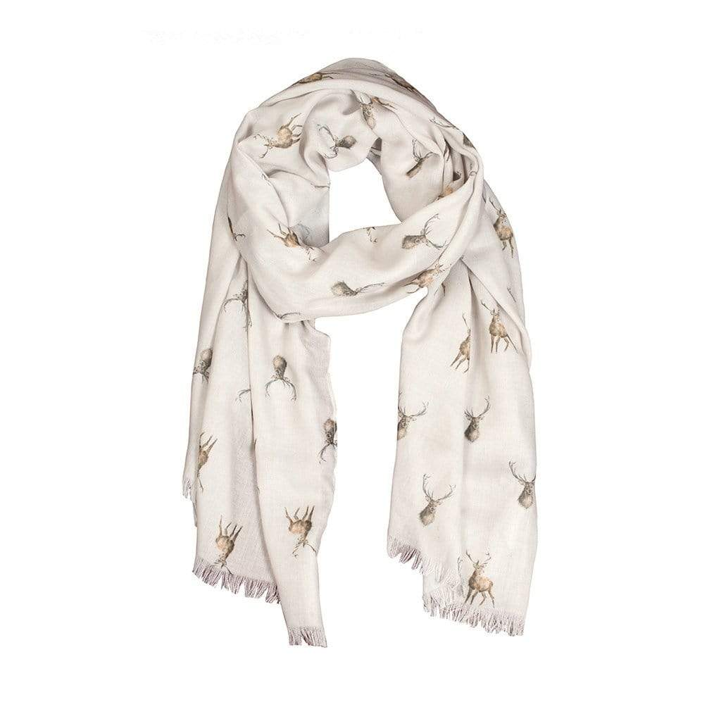 Wrendale Designs Scarf Wild At Heart Stag Scarf