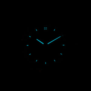 Watch with hands that glow in the dark