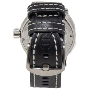 Woven Carbon Fiber Dial Watch by Diefendorff Swiss Movement