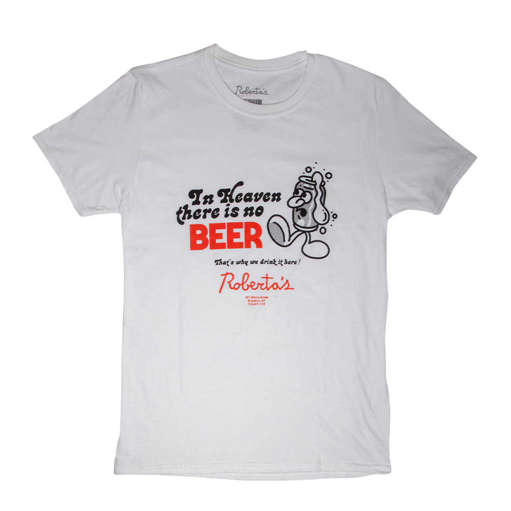 Beer In Heaven Tee (Front Only)