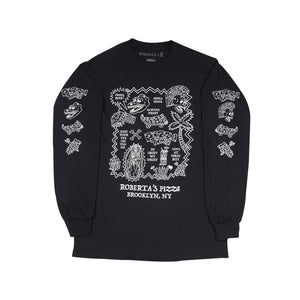 Flash Art Long Sleeve (black)