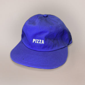 Blue Pizza Hat