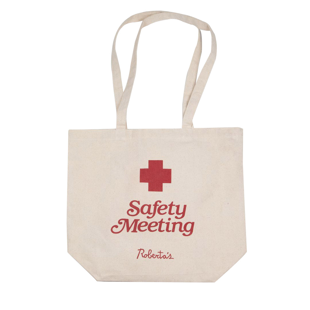 Safety Meeting Tote