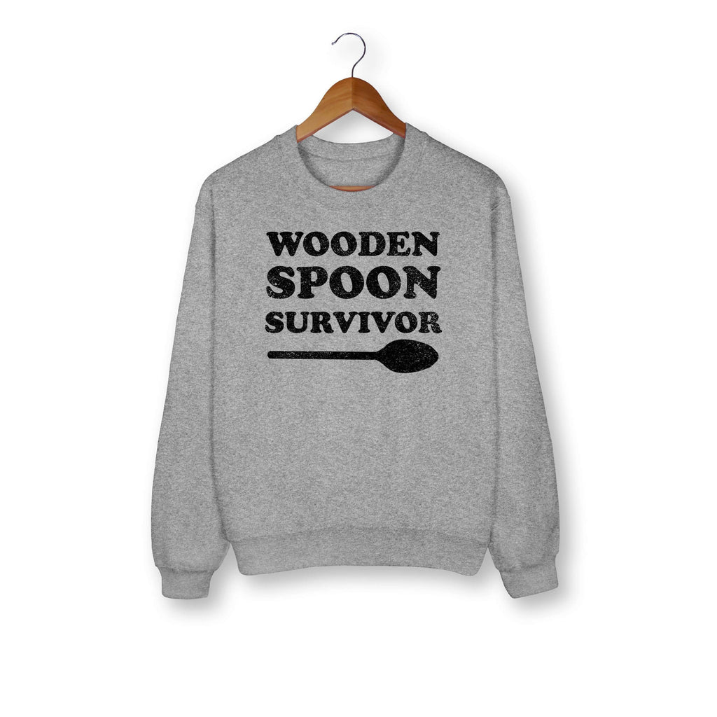 Wooden Spoon Survivor Sweatshirt - HighCiti