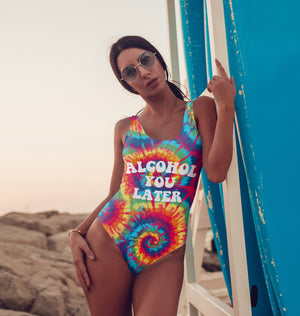 Alcohol You Later Swimsuit - HighCiti