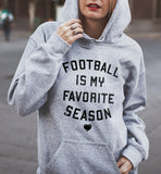Football Is My Favorite Season Hoodie