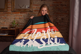 Après Ski Throw Blanket - Cabin Ski Trip Blanket - HighCiti