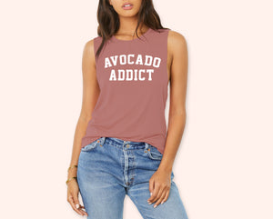 Avocado Addict Muscle Tank - HighCiti