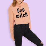 Bad Witch Crop Hoodie