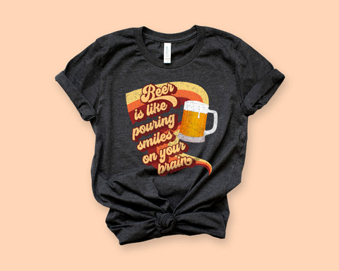 Beer Smiles Shirt - HighCiti