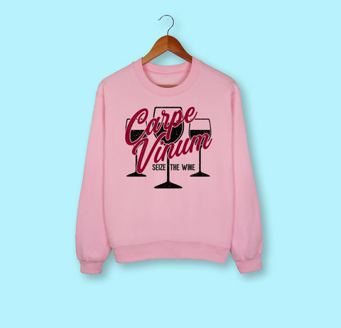 Carpe Vinum Sweatshirt - HighCiti