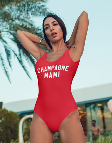 Champagne Mami Swimsuit - HighCiti