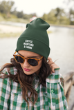 Coffee Mountains And Cabins Beanie - HighCiti