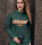 Forest sweatshirt with a pumpkin saying oh my gourd I love fall - HighCiti