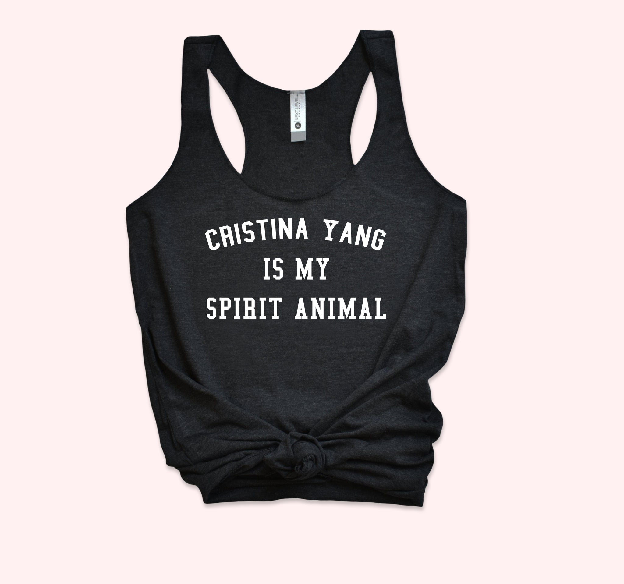 Cristina yang Is My Spirit Animal Tank