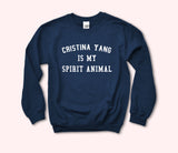 Cristina Yang Is My Spirit Animal Sweatshirt