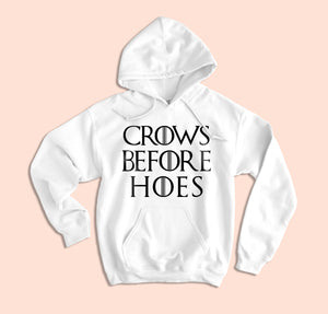 Crows Before Hoes Hoodie - HighCiti
