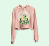 Danker Things Crop Hoodie