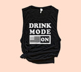 Drink Mode On Muscle Tank
