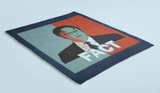 Navy throw blanket with red and blue dwight schrute 2020 - HighCiti