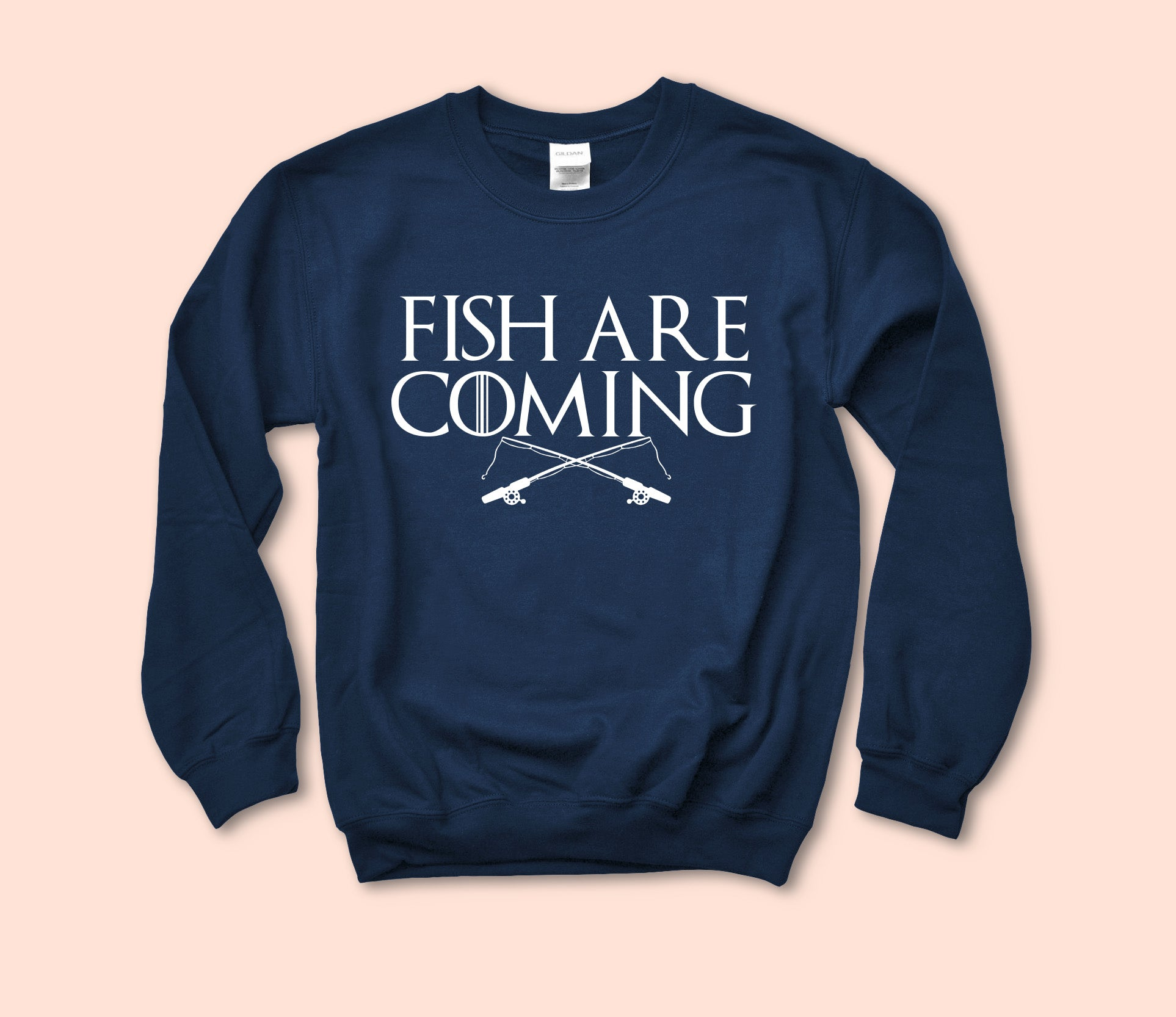 Fish Are Coming Sweatshirt
