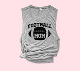 Football Mom Muscle Tank