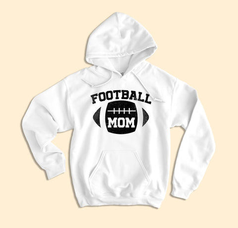 Football Mom Hoodie - HighCiti