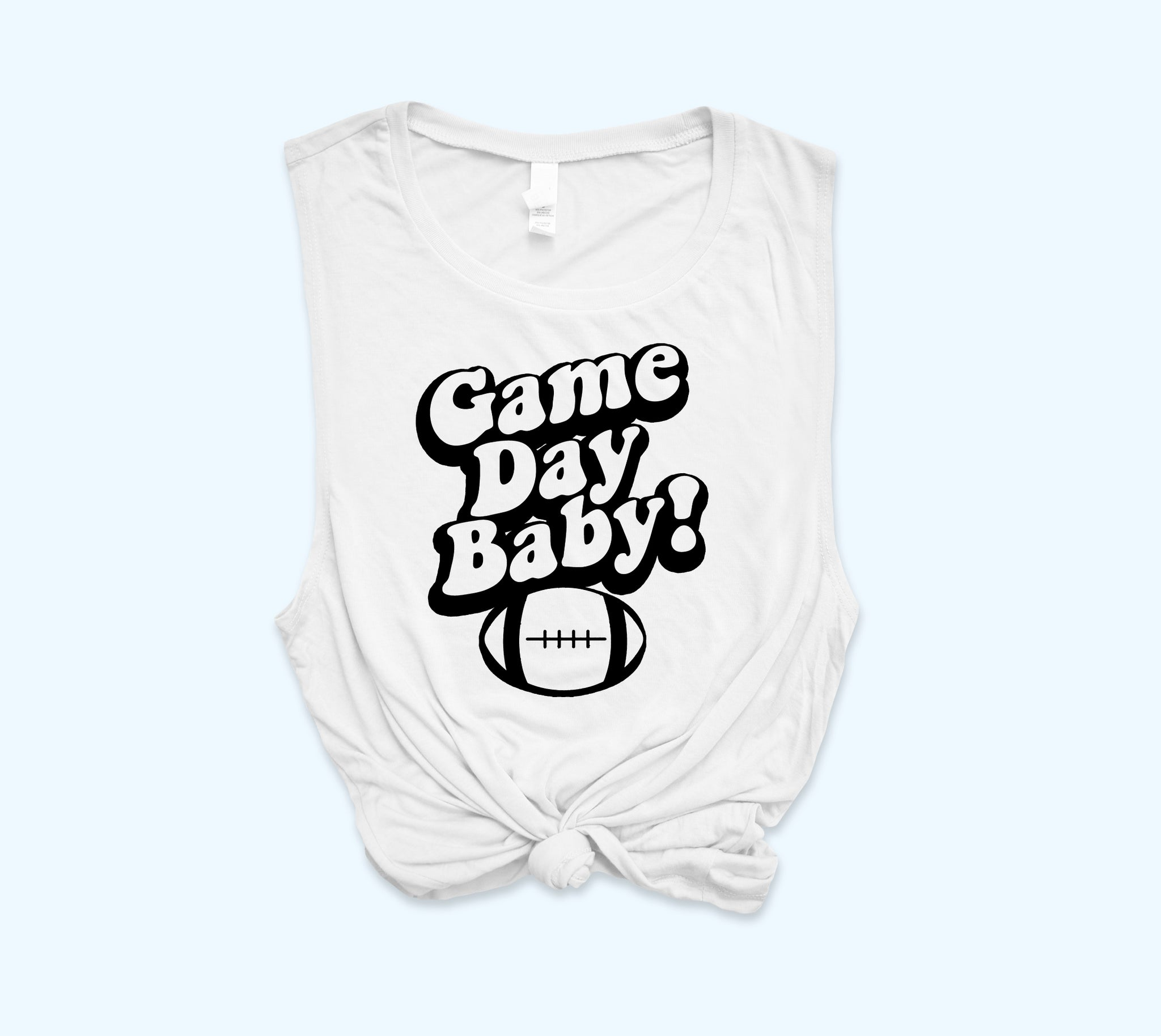 Game Day Baby Muscle Tank