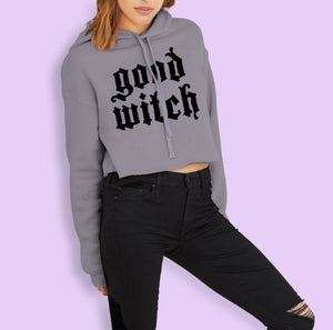 Good Witch Crop Hoodie
