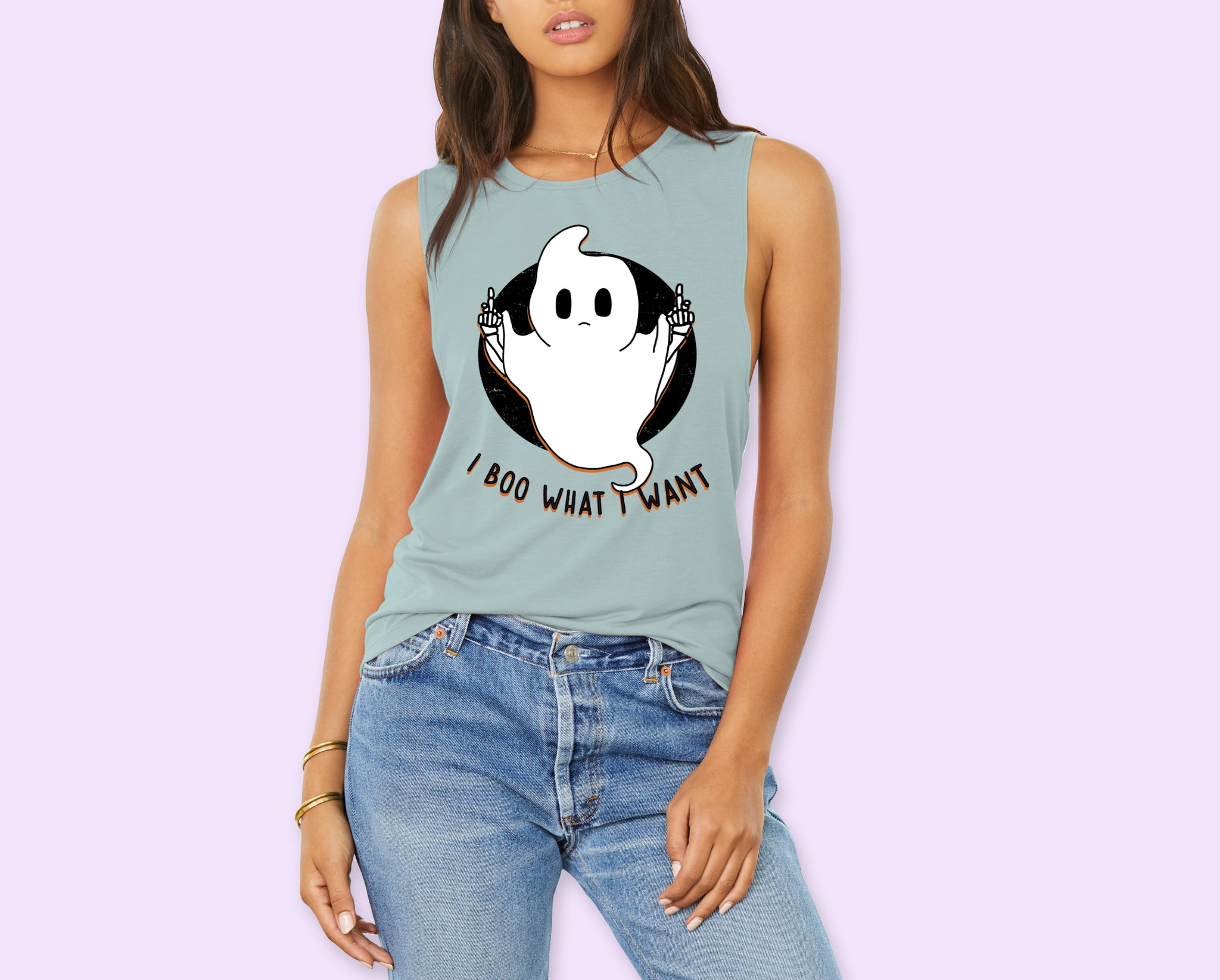 I Boo What I Want Muscle Tank