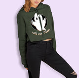 I Boo What I Want Crop Hoodie - HighCiti