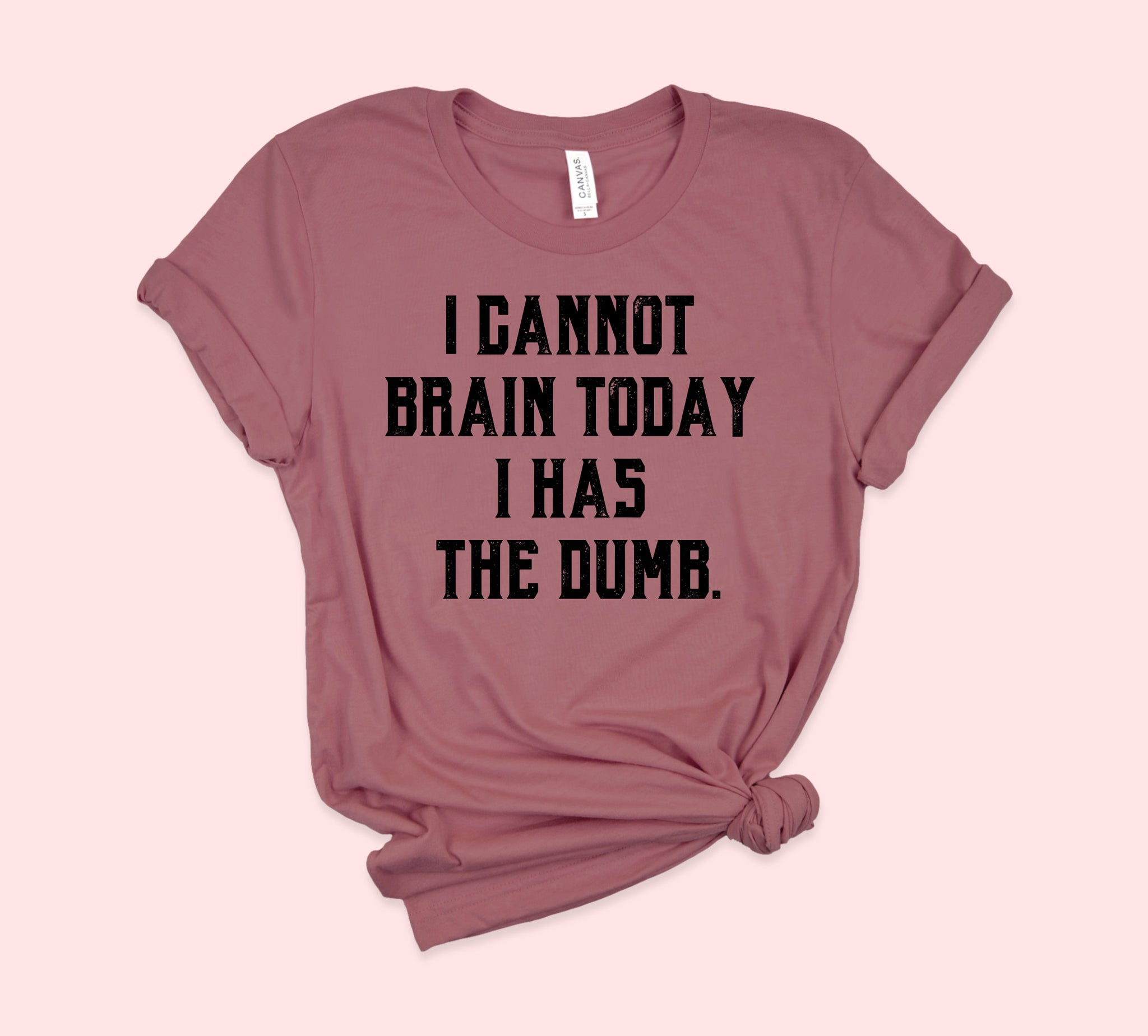 I Cannot Brain Today Shirt