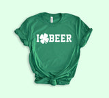 I Shamrock Beer Shirt