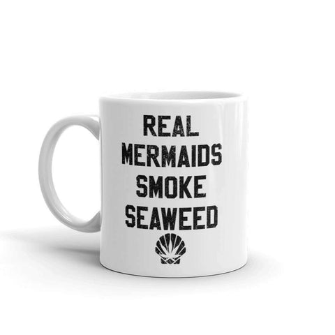 Real Mermaids Smoke Seaweed Mug - HighCiti