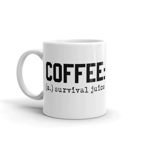 Coffee Survival Juice Mug - HighCiti
