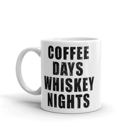 Coffee Days Whiskey Nights Mug - HighCiti