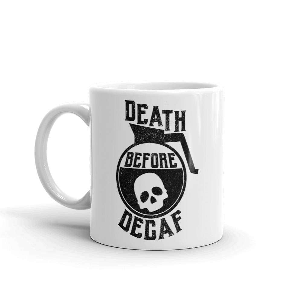 Death Before Decaf Mug - HighCiti