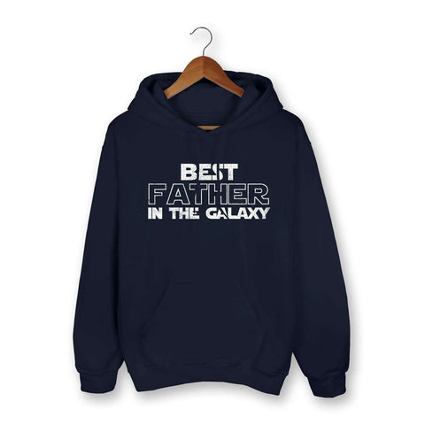 Best Father In The Galaxy Hoodie - HighCiti