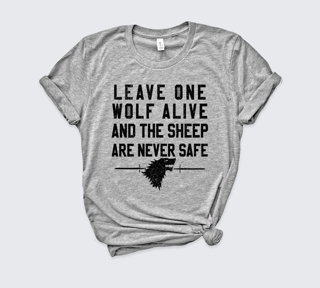 Leave One Wolf Alive Shirt