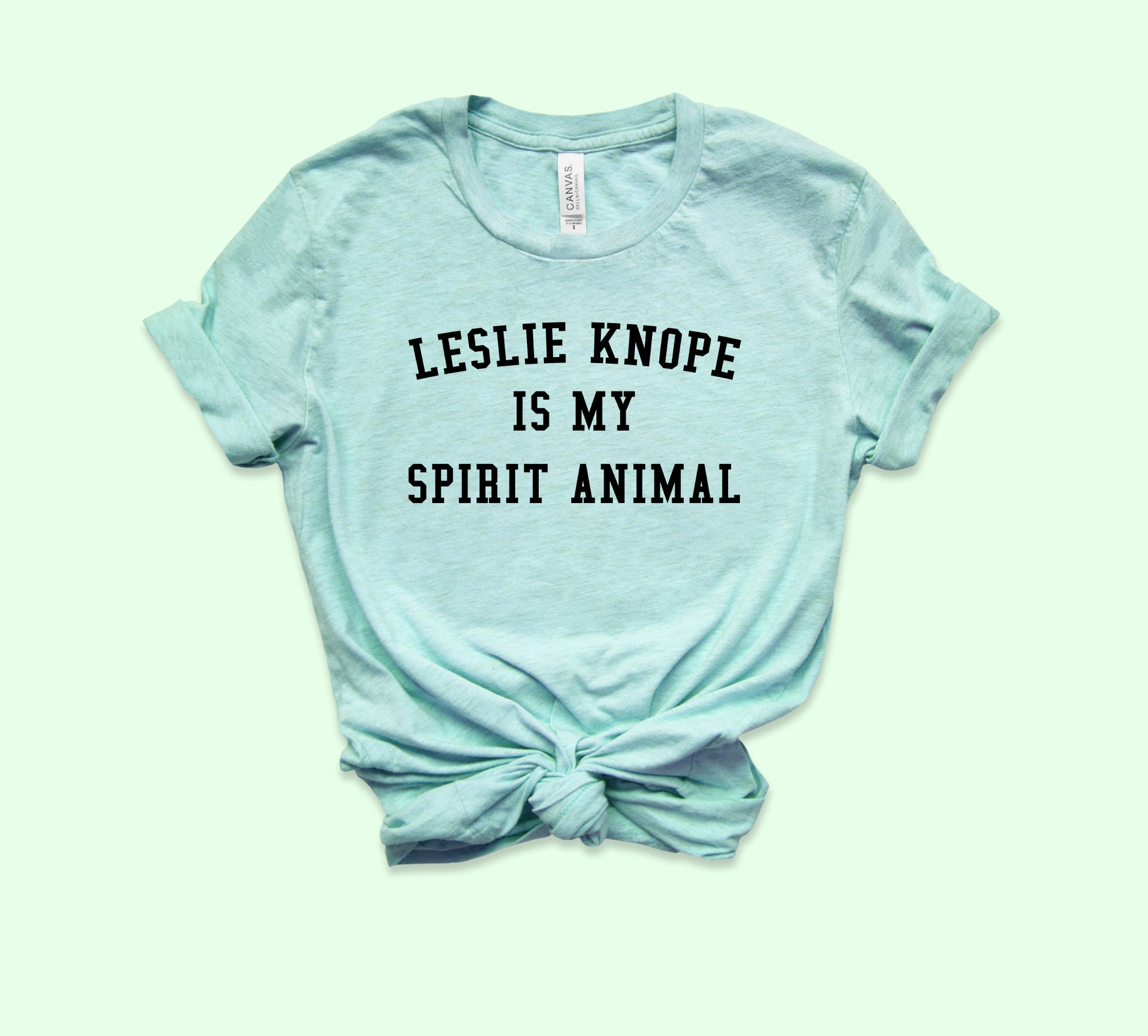 Leslie Knope Is My Spirit Animal Shirt
