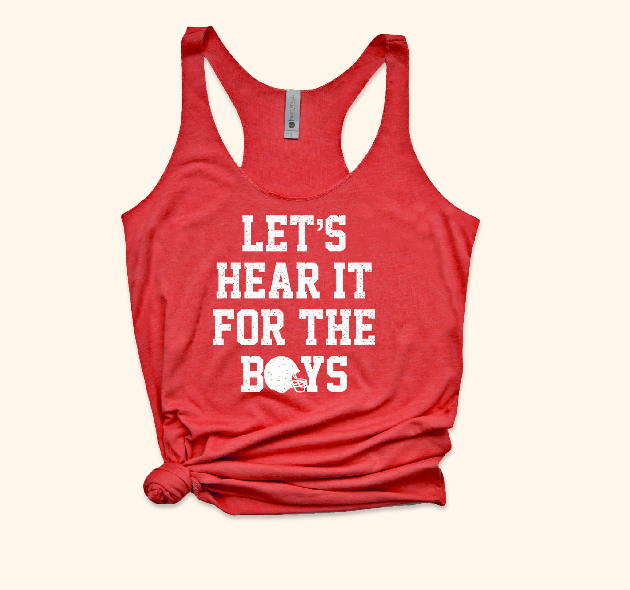 Let's Hear It For The Boys Tank - HighCiti