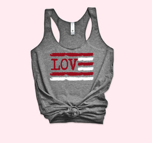 Love Usa Tank - HighCiti