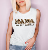 Mama All Day Everyday Muscle Tank