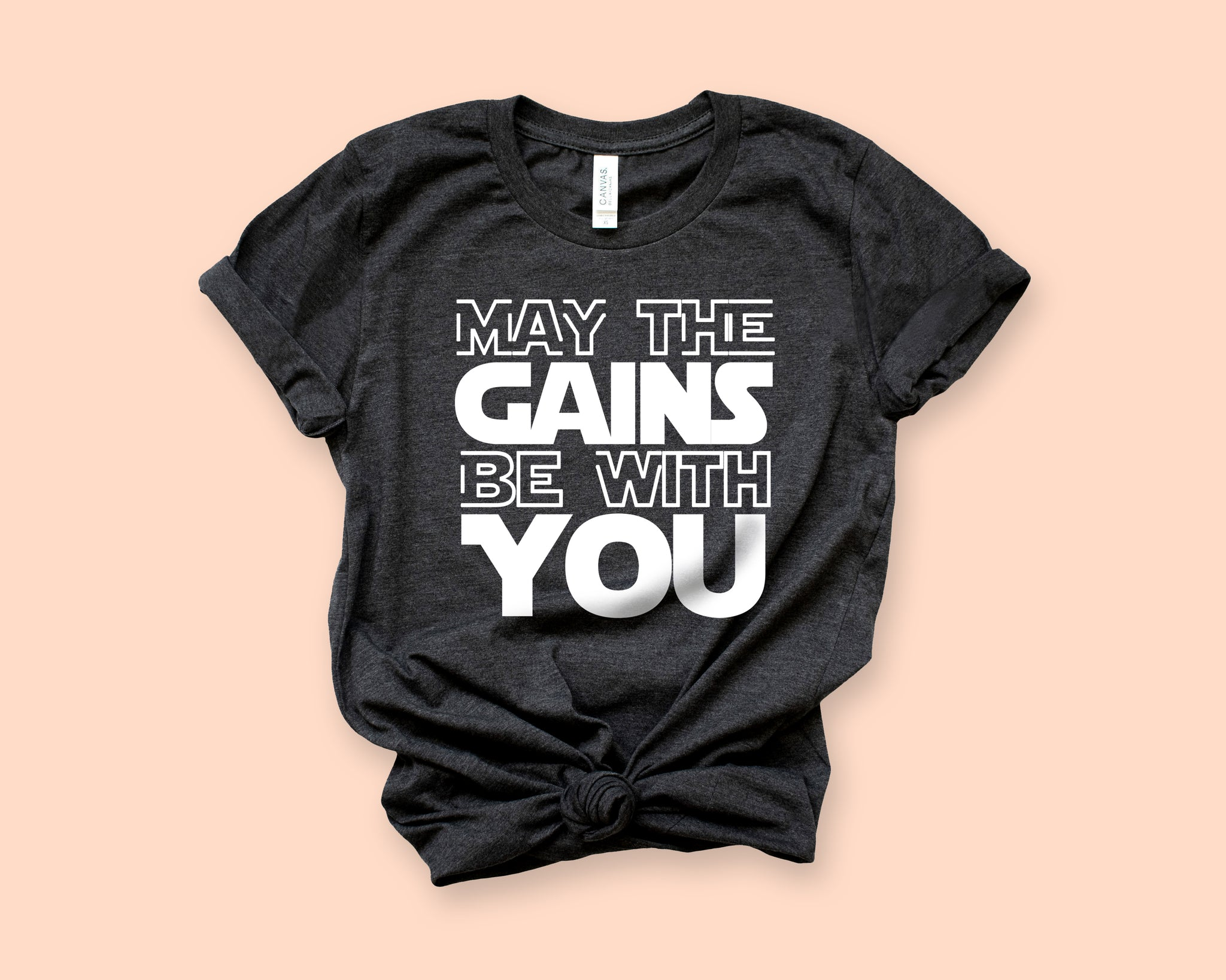 May The Gains Be With You Shirt