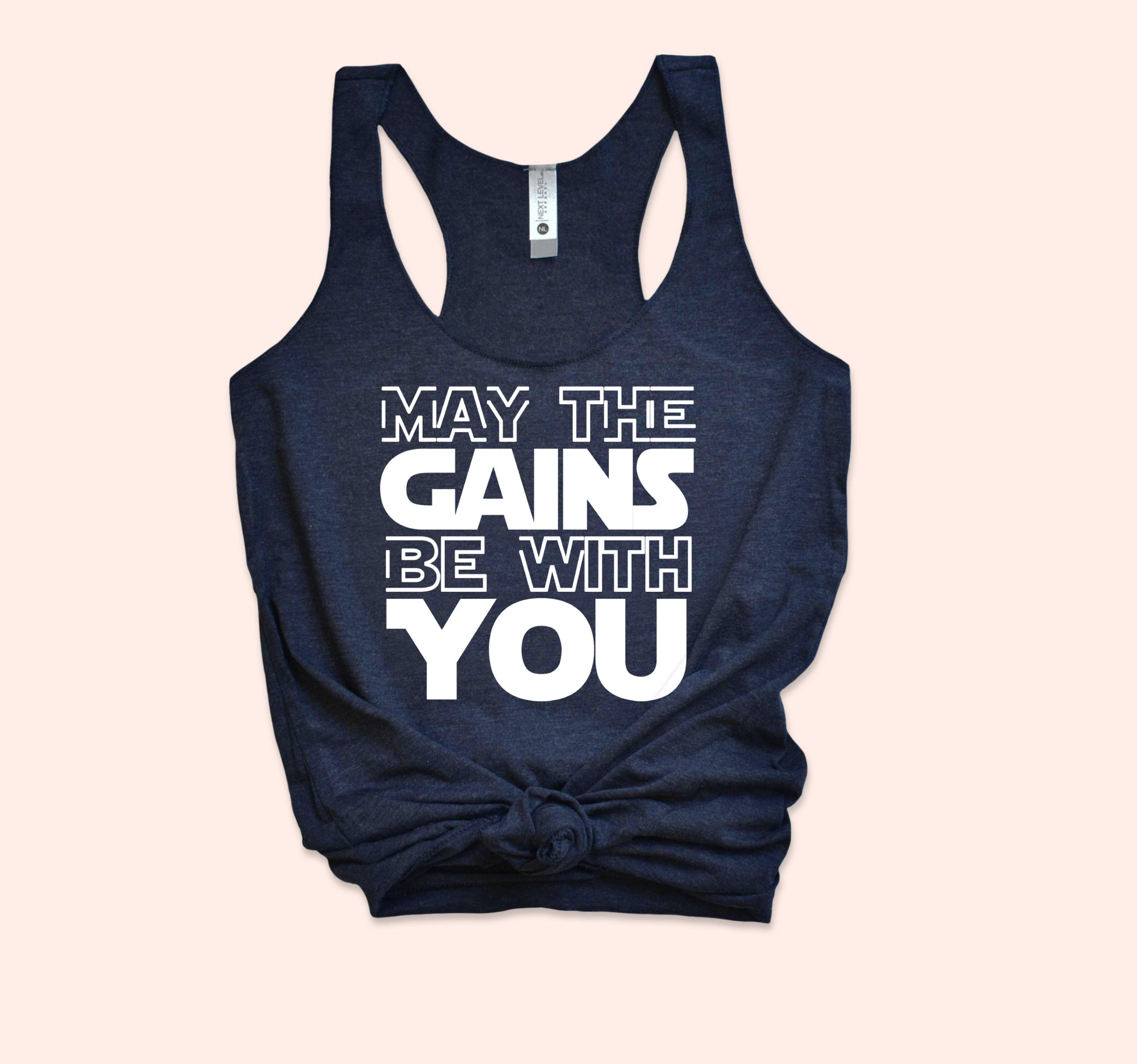 May The Gains Be With You Tank