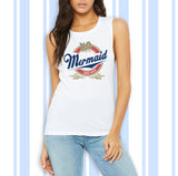 Mermaid Since Birth Muscle Tank