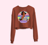 Nerd Crop Sweatshirt