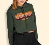 Oh My Gourd I Love Fall Crop Hoodie