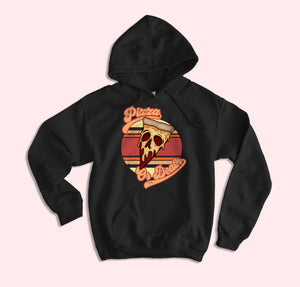 Pizza Or Death Hoodie